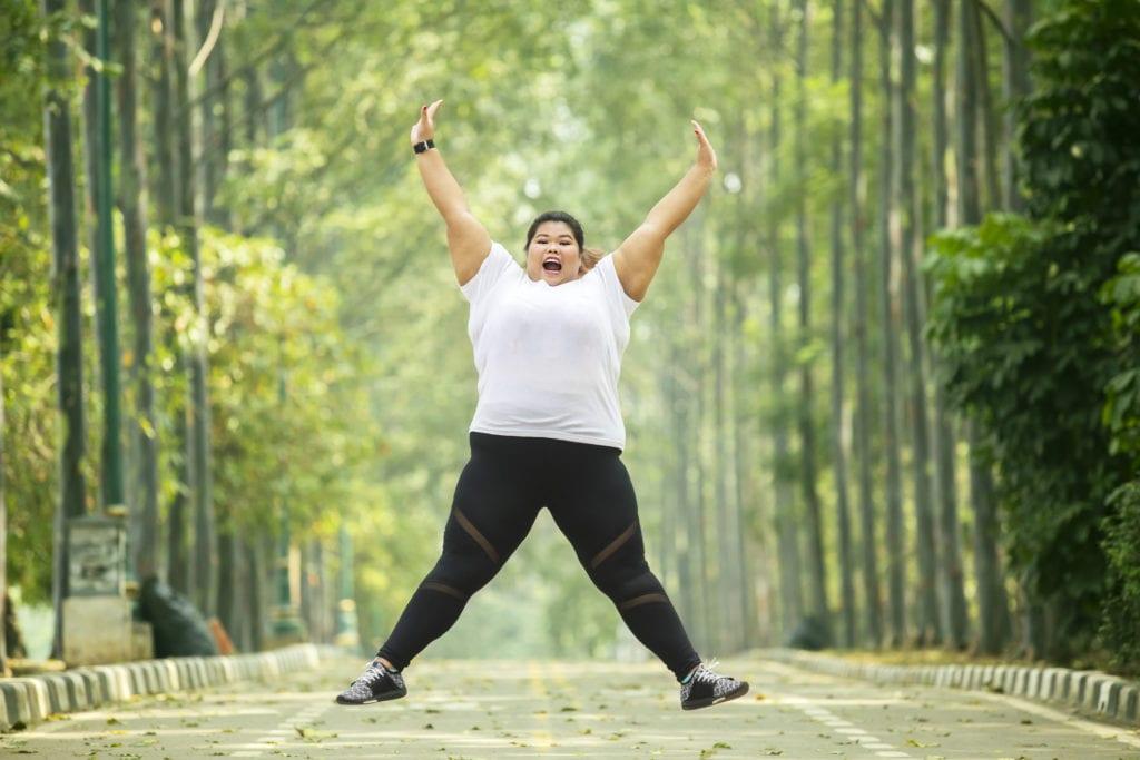 ожирение женщина