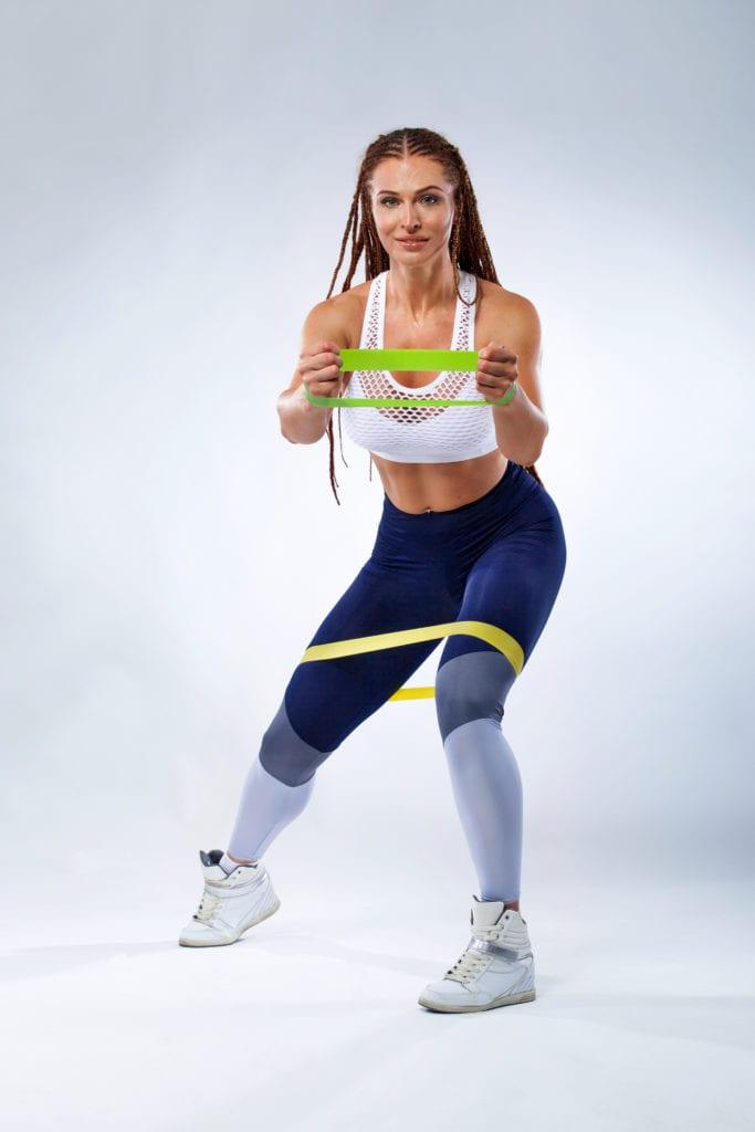 фитнес эластичный эспандер