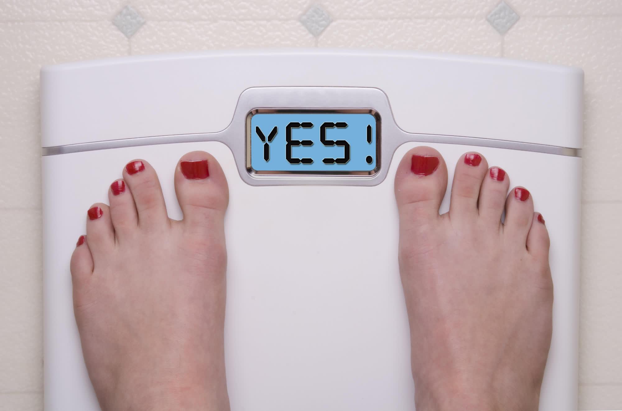 оптимальный вес на весах