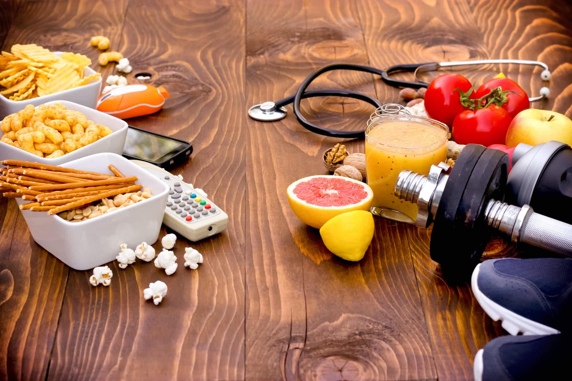 вредные привычки и полезные привычки