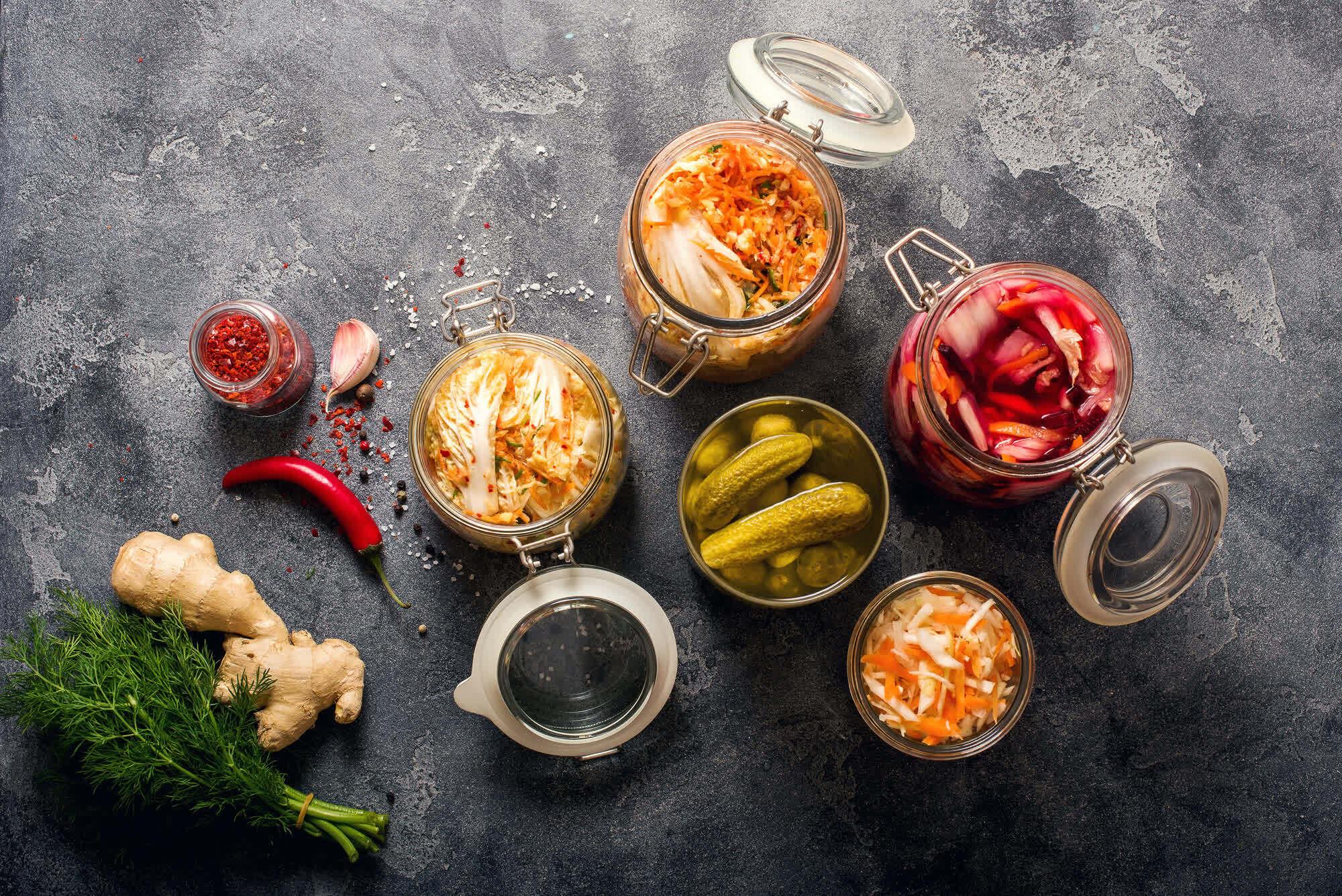 продукты с пробиотиками для похудения